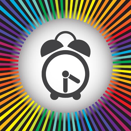 analog clock vector icon Vector