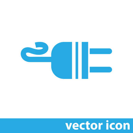 adapter: electric ac power plug vector icon