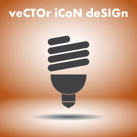 fluorescent light bulb Vector