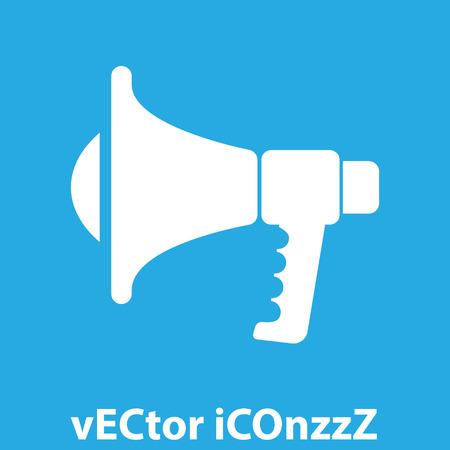 megaphone vector icon Vector