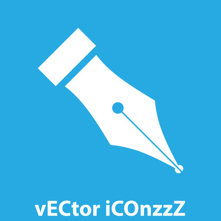 fountain pen symbol vector icon Vector