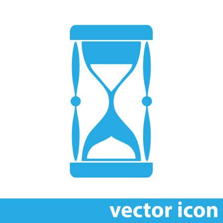 sand clock vector icon Vector