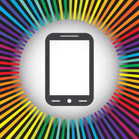 phone vector: smart phone vector icon Illustration