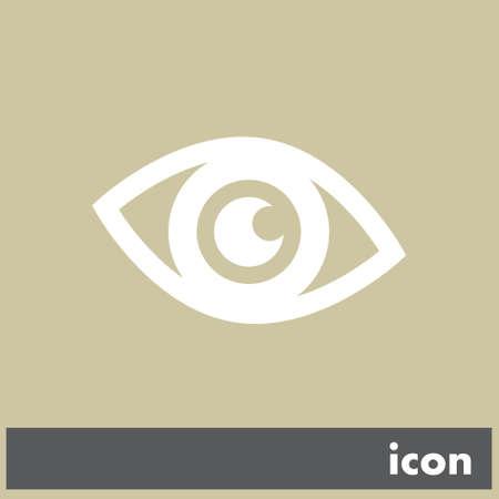 eye vector icon Vector