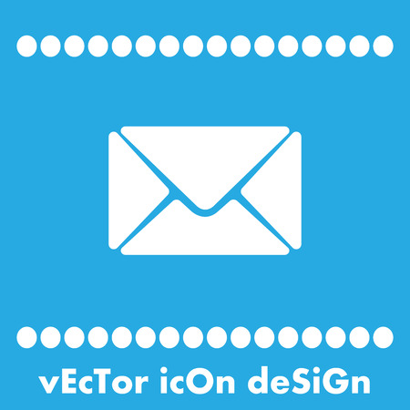 spamming: mail vector icon