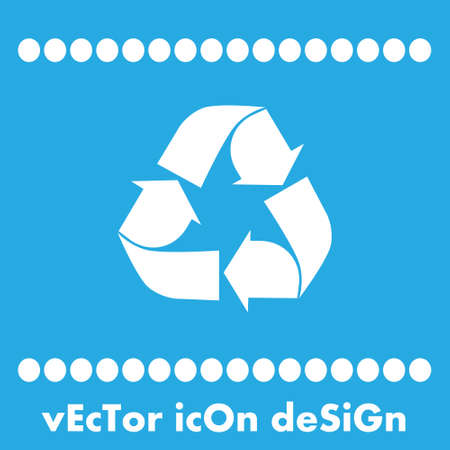 recycle vector icon Vector