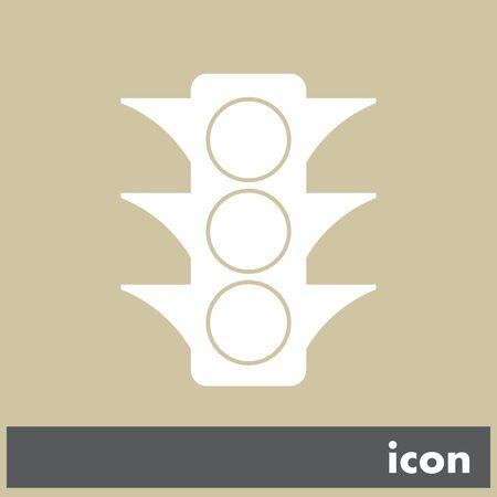 semaphore vector icon Vector