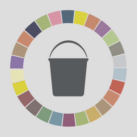 bucketful: bucket icon