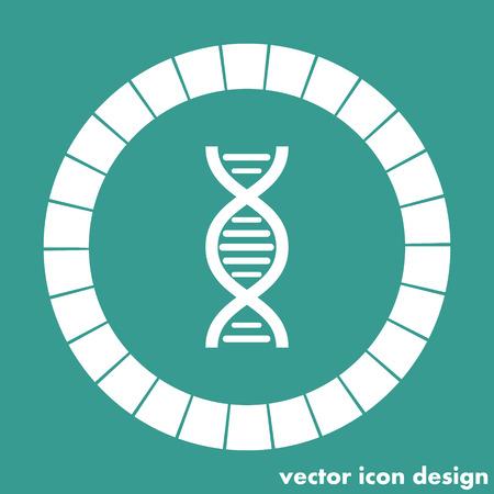genome: dna chain icon