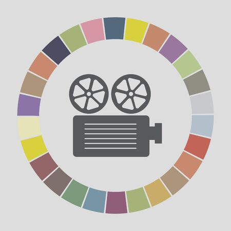 movie projector icon Vector