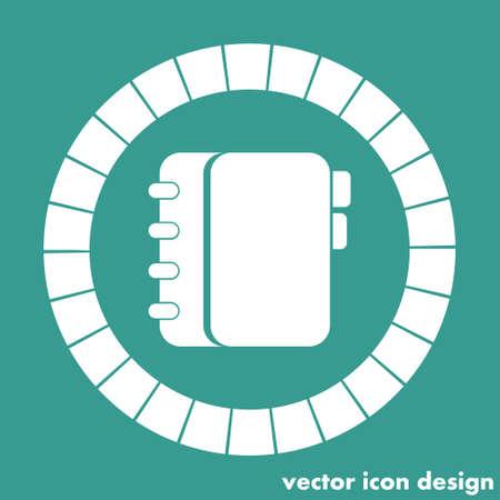 personal organizer icon Vector