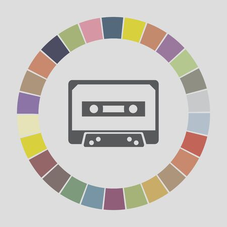 music tape icon Vector