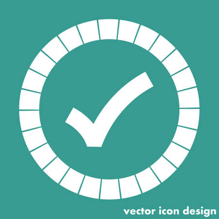 ok sign checkmark icon Vector