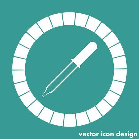 pipette: pipette icon