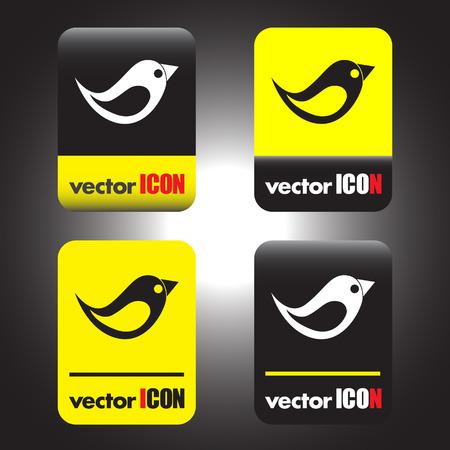 bird vector icon Vector