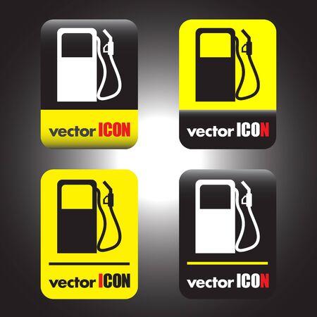 gas station pump vector icon Vector