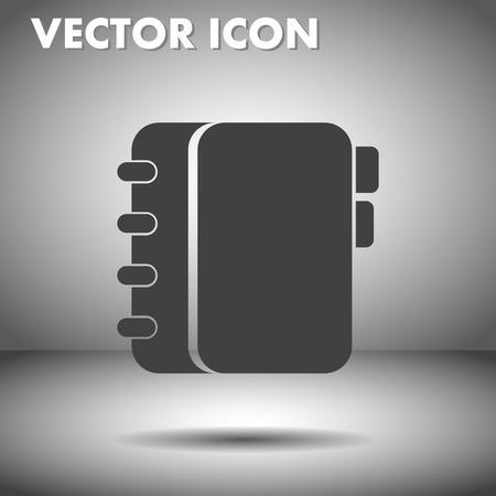 terminplaner: Personal Organizer Vektor-Symbol