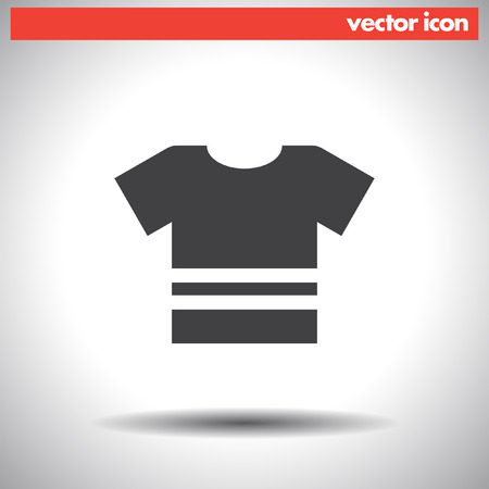 t shirt vector icon Vector