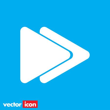 forward icon: fast forward button icon