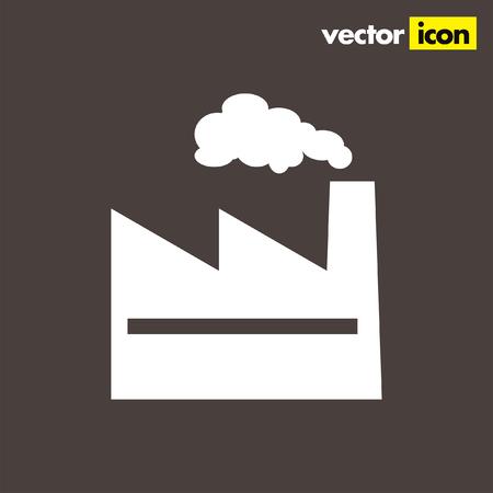 fabriek vector pictogram