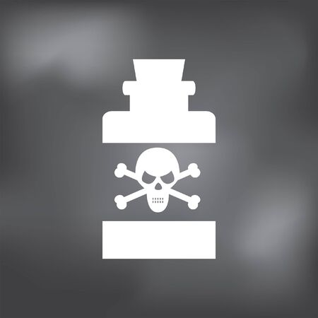 poison bottle: