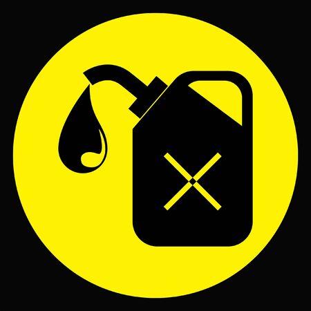 petrol: petrol fuel icon