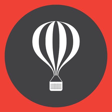 ballon: air balloon vector icon