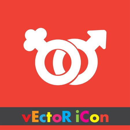 Female And Male Gender Symbol Vector Icon Royalty Free Cliparts