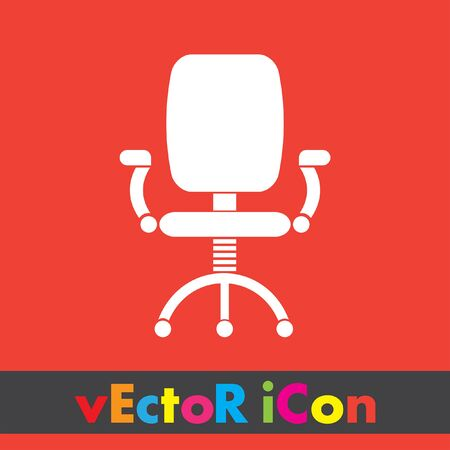 sedia ufficio: sedia da ufficio vector icon