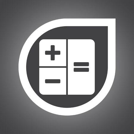 calculator: calculator vector icon design