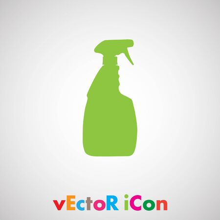 household cleaning bottle vector Vector
