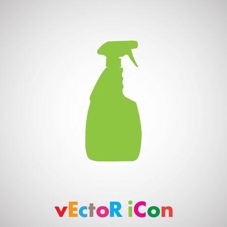 household cleaning bottle vector Vector