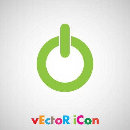 power button vector icon Vector