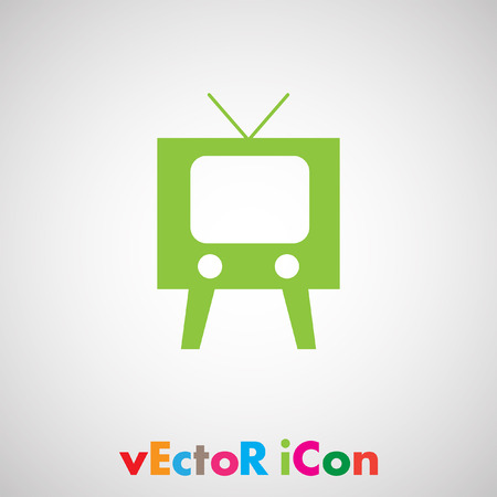 home entertainment: television symbol vector icon