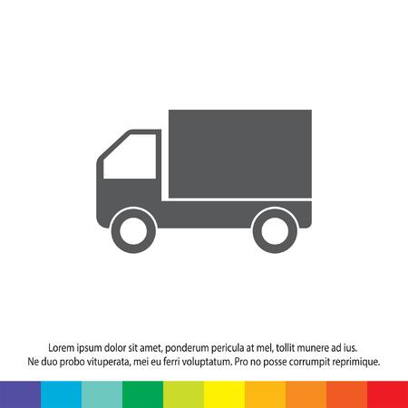 truck vector icon Vector