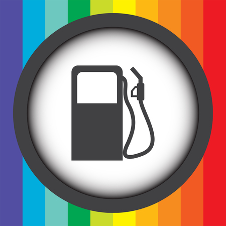 gas station pump vector icon Vector