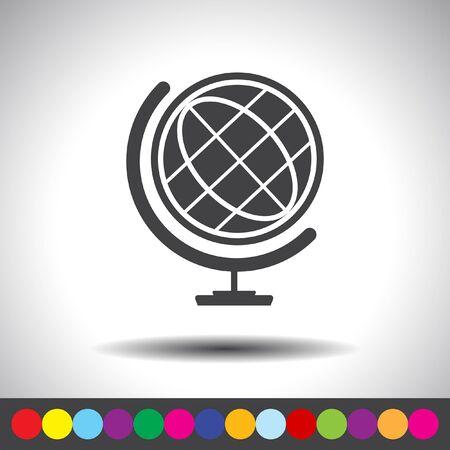 globe vector icon Vector