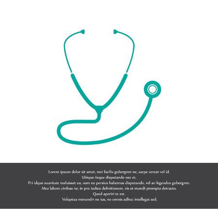 stethoscope vector icon Vector