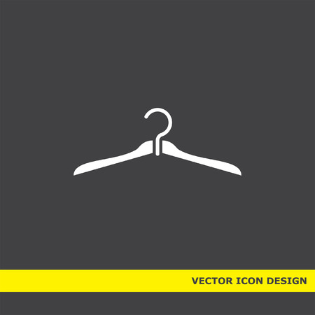 hanger vector icon Vector