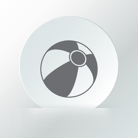 beachball: beach ball icon