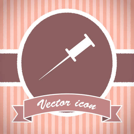pushpin vector icon photo