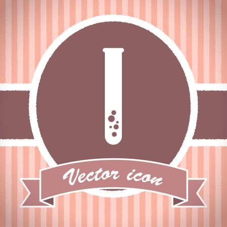 laboratory test: laboratory test tube vector icon