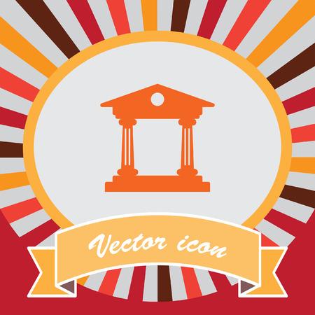 institution: Institution vector icon