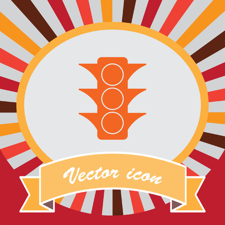 semaphore: icono de vector de sem�foros Vectores