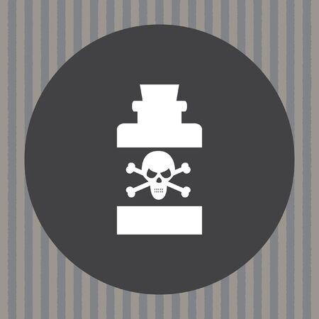 poison bottle: bottiglia con veleno icone vettoriali
