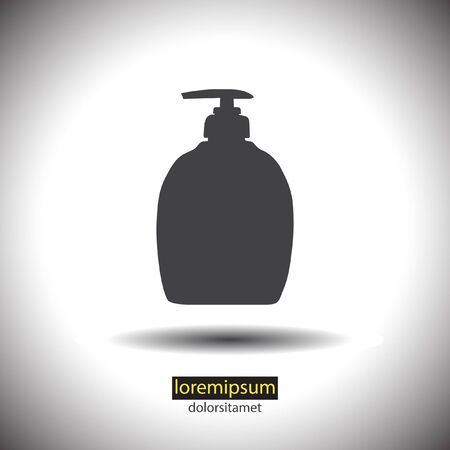 detergent: household detergent cleaning bottle icon