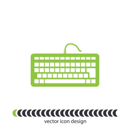 input device: keyboard vector icon Stock Photo