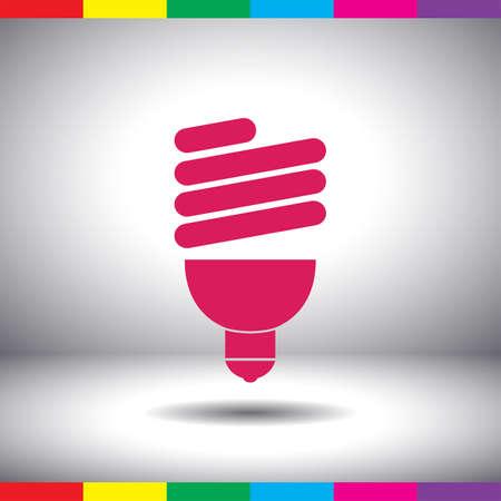 fluorescent light: fluorescent light bulb Stock Photo