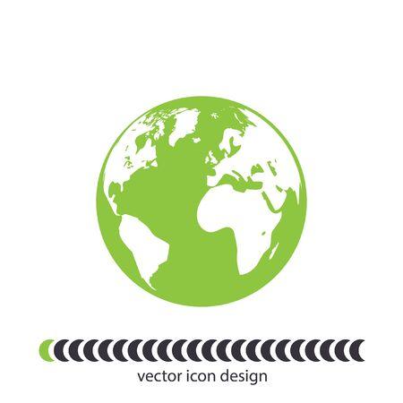 world globe: Earth globe icon
