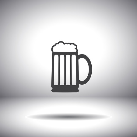beer vector icon Vector